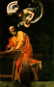 The_Inspiration_of_Saint_Matthew_by_Caravaggio